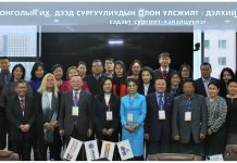 Mandy Mok, CEO, QS Branding & Conferences meeting with Mongolian media