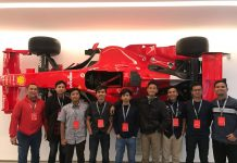 Sapuangin ITS Team Study at Ferrari Italian Headquarters Drivers' World Championship